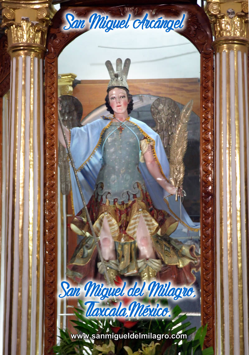 Saint Michael TLAXCALAMEXICO